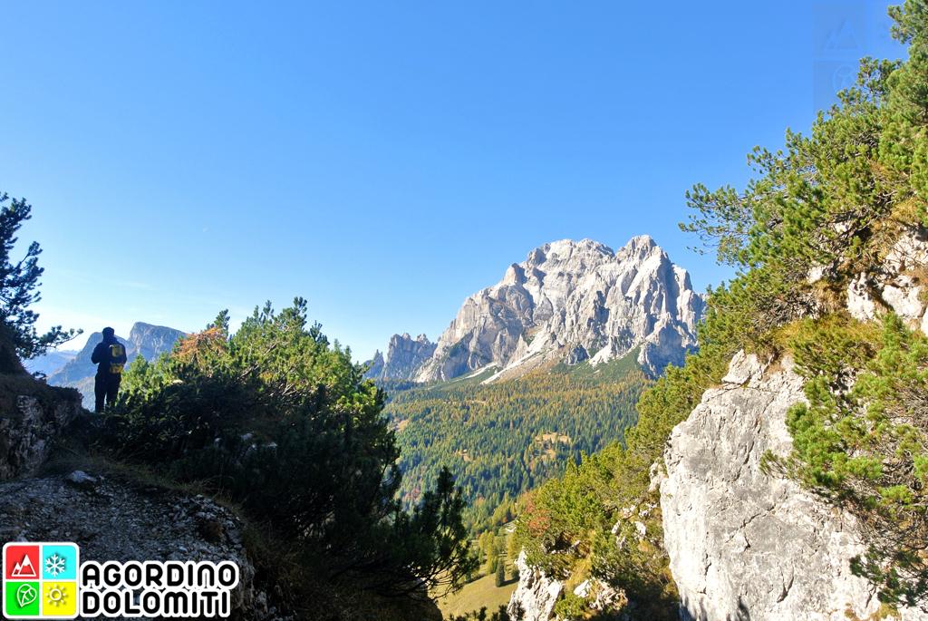 Cima Nord di San Sebastiano Agordino Dolomiti