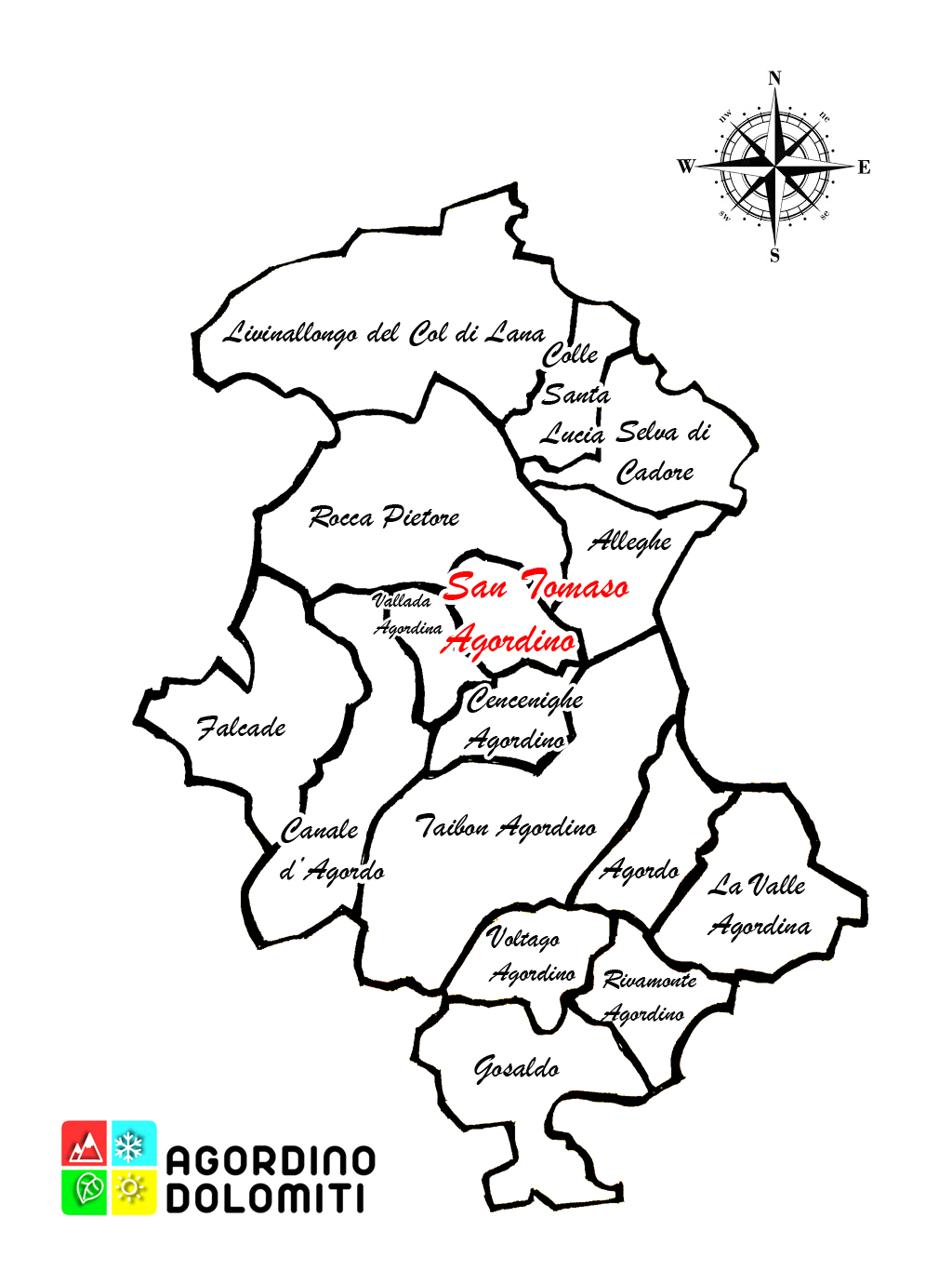 San Tomaso Agordino Dolomiti