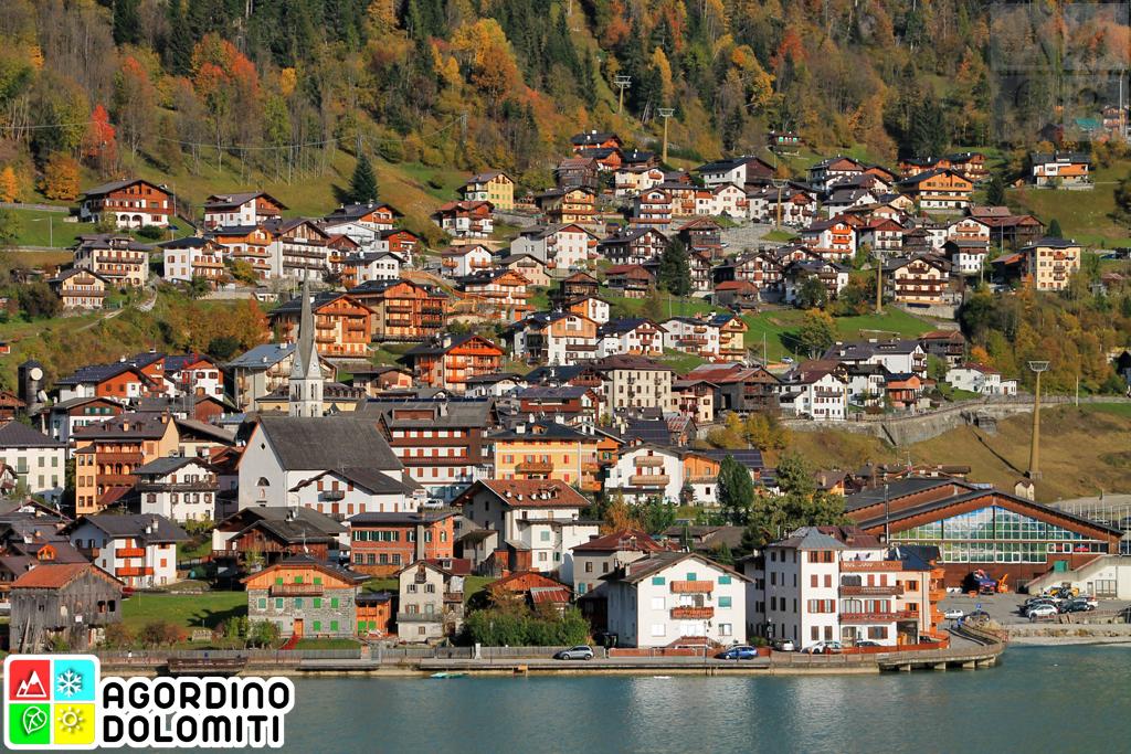 Alleghe nelle Dolomiti