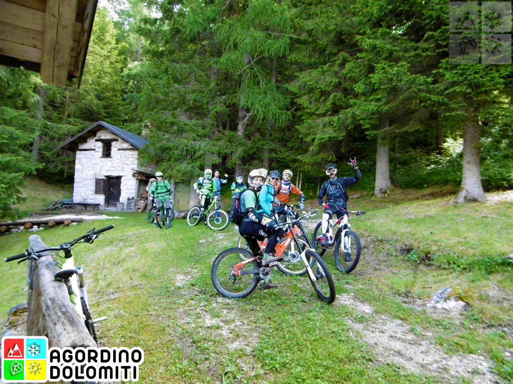 Mountain Bike in Agordino