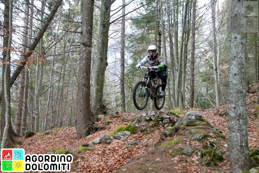 Mountain Bike a La Valle Agordina