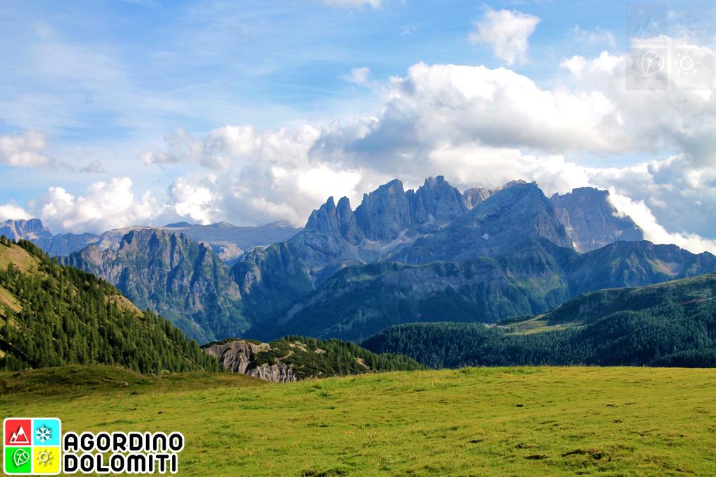 Falcade nelle Dolomiti
