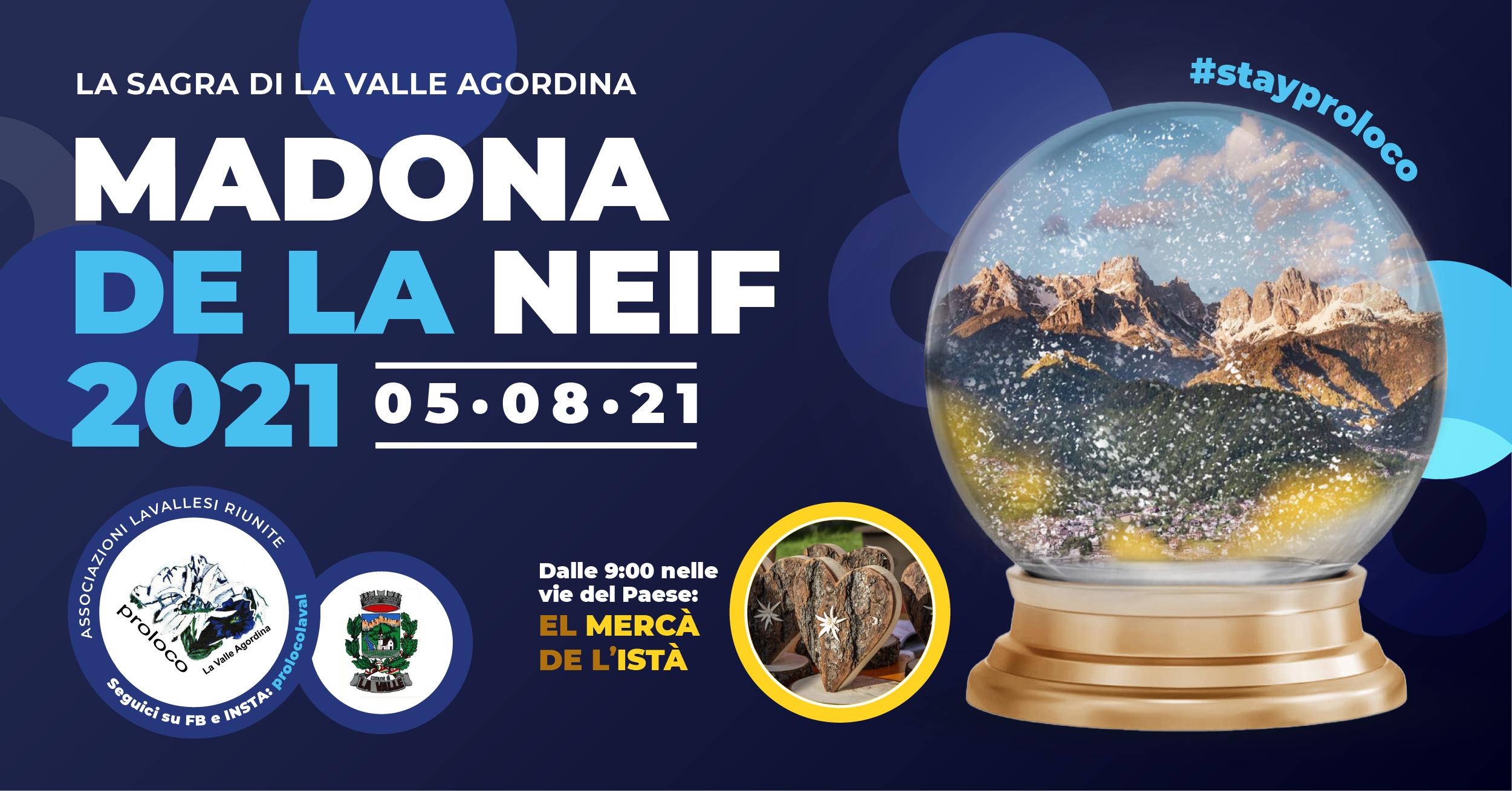 Madona de la Neif La Valle Agordina